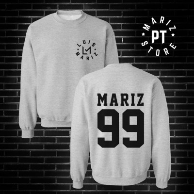 mariz 99 sweat cinza