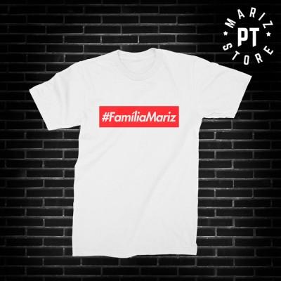 familia Mariz t-shirt branca
