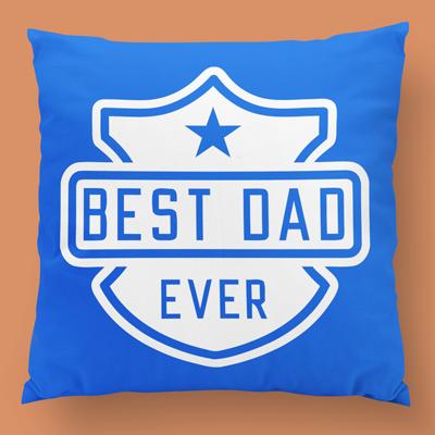 Best dad ever almofada