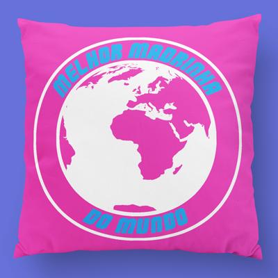 almofada personalizada a melhor madrinha do mundo