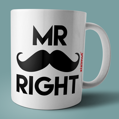caneca mr right