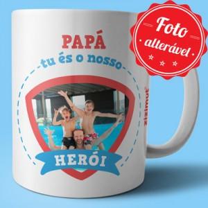 caneca papa es o nosso heroi