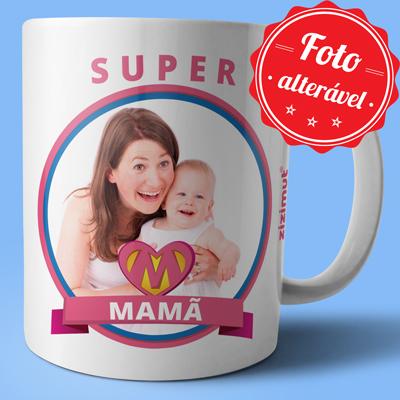 caneca super mama