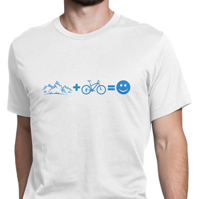 mountain + bike equals fun