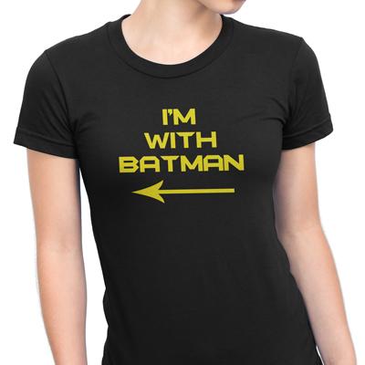 i´m with batman mulher