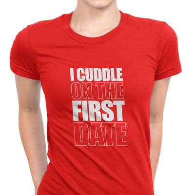 i cuddle on the first date