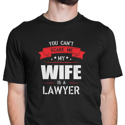 my wife is a lawyer