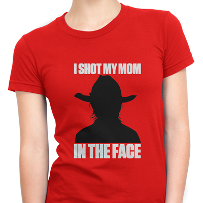i shot my mom in the face