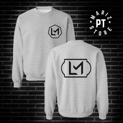 LM sweat cinza