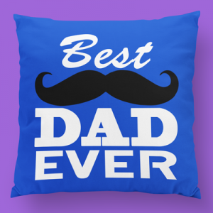 Best dad ever 2 almofada