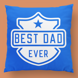 Best dad ever almofada