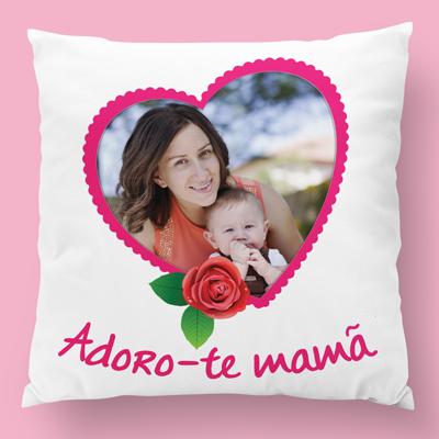 almofada personalizada adoro-te mama