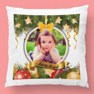 almofada de natal com foto 4