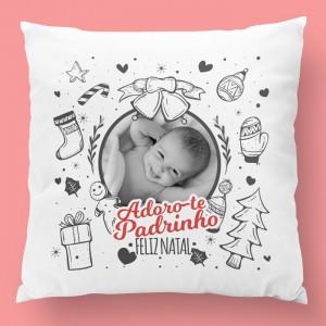 almofada de natal com foto 5
