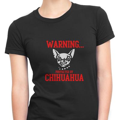 Warnig Protected By Chihuahua