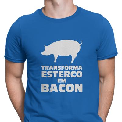 transforma esterco em bacon