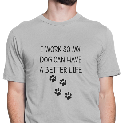 work dog better life