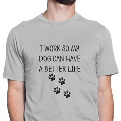 work dog better life