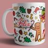 caneca Natal com foto 3