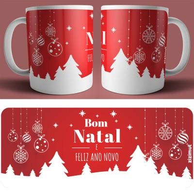 caneca bom natal e feliz ano novo