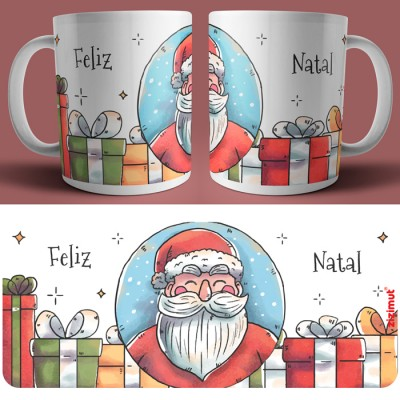 caneca feliz natal