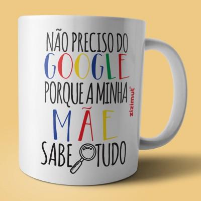 caneca google mãe
