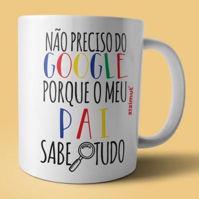caneca google pai