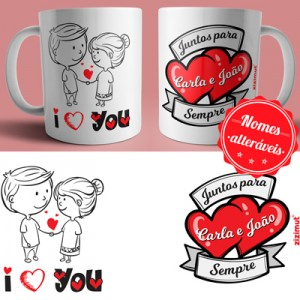 caneca i love you