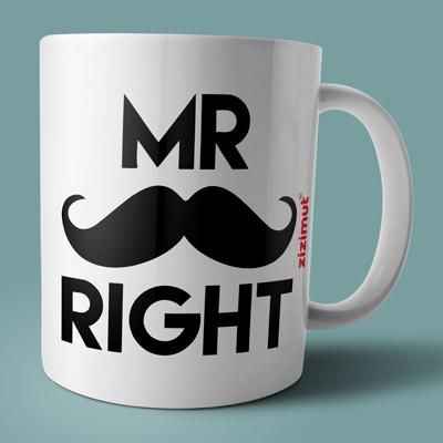 caneca mr right