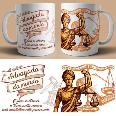 caneca advogada