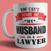 caneca my husband is a lawyer