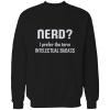Nerd intelectual badass