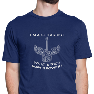 I´m a guitarrist what´s your superpower