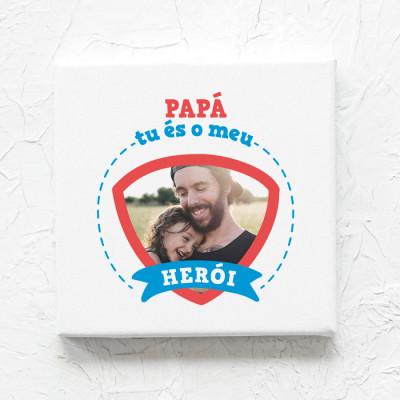 tela papa es o meu heroi