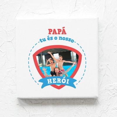 tela papa es o nosso heroi